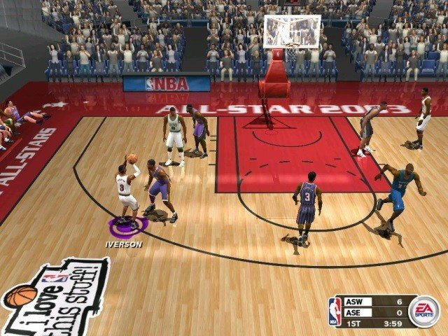 NBA Live 2003 Free Full For PC