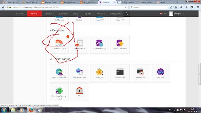 database my SQL