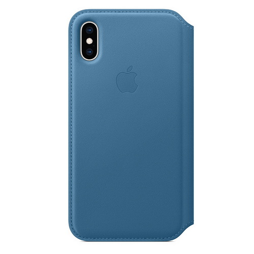 Casing Apple Leather Folio iPhone XS