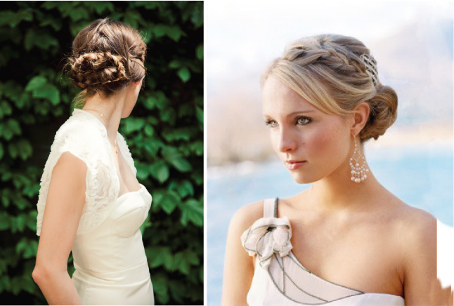 Up Wedding Hair Style with Braids