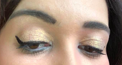 maquillage avec Palette Foil Finger Paints Tarte
