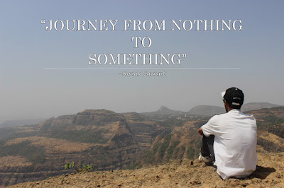 Cover Photo: Journey From Nothing To Something - Ronak Sawant