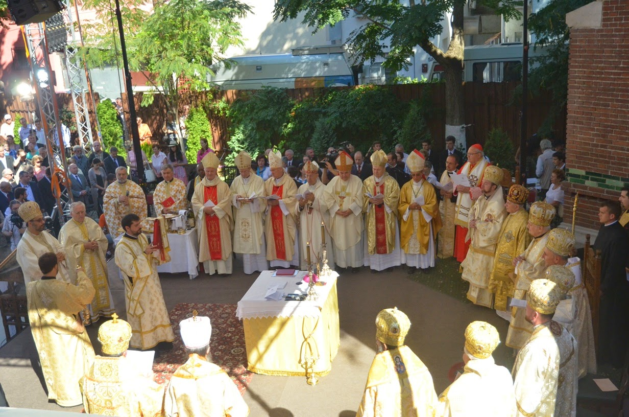 New Liturgical Movement A New Greek Catholic Cathedral In Romania
