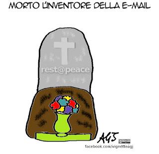 e-mail, Ray Tomlinson, vignetta