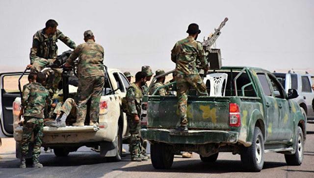 Pasukan Suriah telah berhasil menembus Deir-ez-Zor