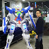 6 1/2 foot Paper Craft: Gundam Exia with LED