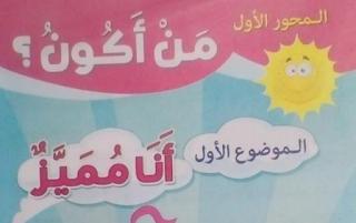 منهج اللغة العربية كاملا للصف الاول الابتدائي الترم الاول مقدم من أسرة كتاب قطر الندى