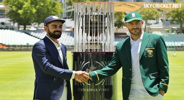 South Africa v India 2018 TV Channels