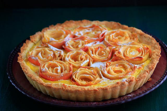 Ciasto apple roses