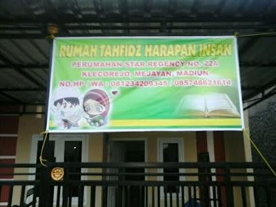 Rumah Tahfidz SDIT Harapan insan