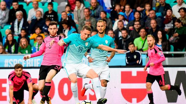 El empate entre eslovenos y escoceses elimina a los dos de Rusia 2018