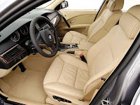 BMW 5-Series Touring (E61) Interior View