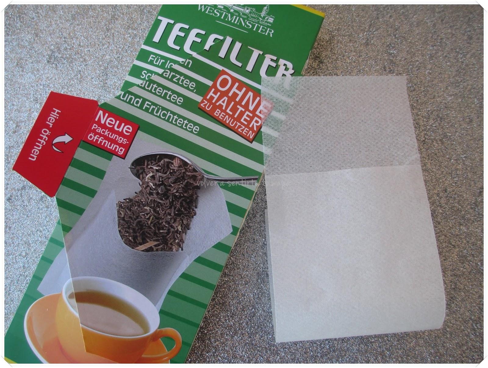 Qué comprar en ALDI - Filtros para tés e infusiones
