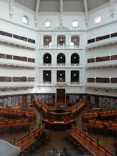 A photograph of the dome reading room.