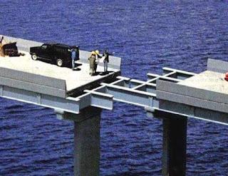 unión dos tramos de puente