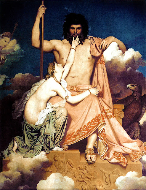 Jean-Auguste-Dominique Ingres - Giove e Teti