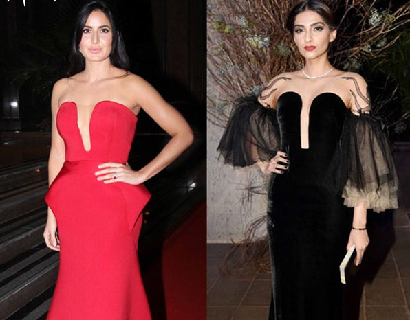 Katrina Beats Sonam In The Game Of Plunging Neckline