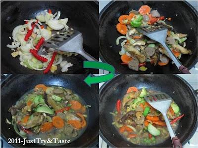 Resep Sapo Sayur & Nasi Beras Merah JTT