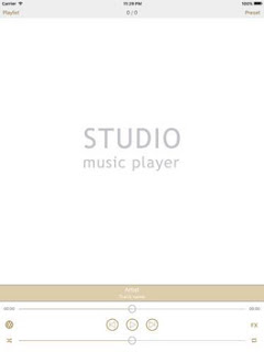 Studio Music Player For iOS