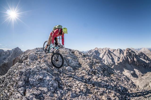 Fotoshooting Monte Ciaval Mountainbike MTB