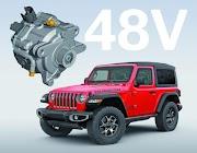 New eTorque semi-hybrid system with Jeep Wrangler