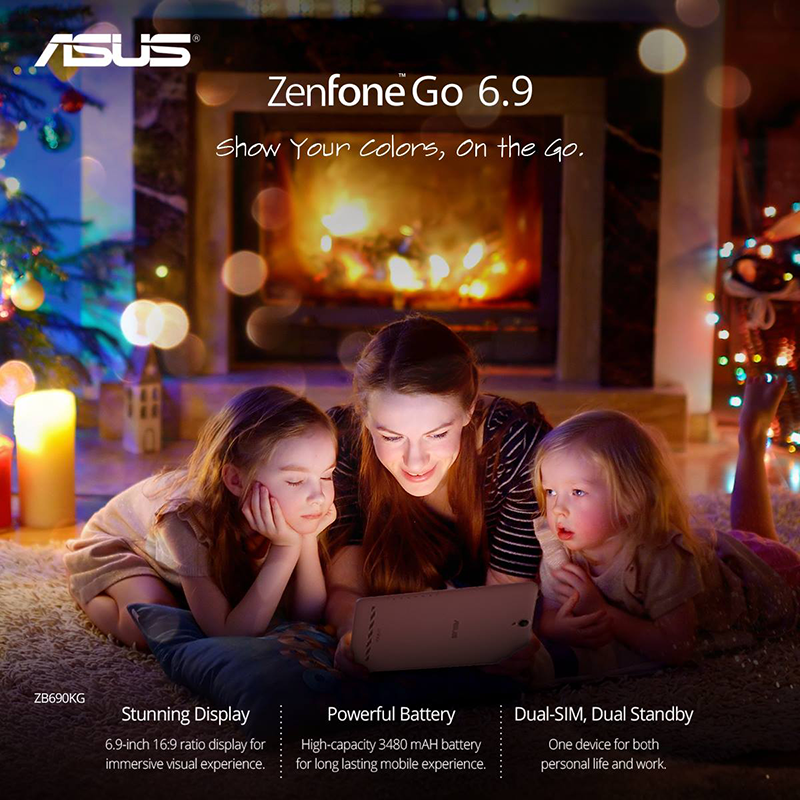 Asus ZenFone Go 6.9 (ZB690KG) Lands In PH For PHP 4995!