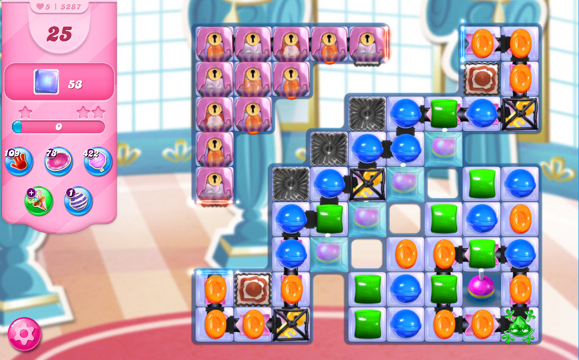 Candy Crush Saga level 5287