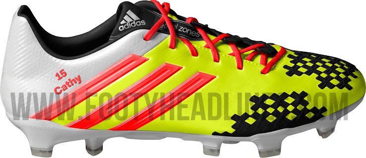 promo code 57a38 96dab ... coupon for hummels special miadidas predator lz ii boot is mainly  yellow and designed for the