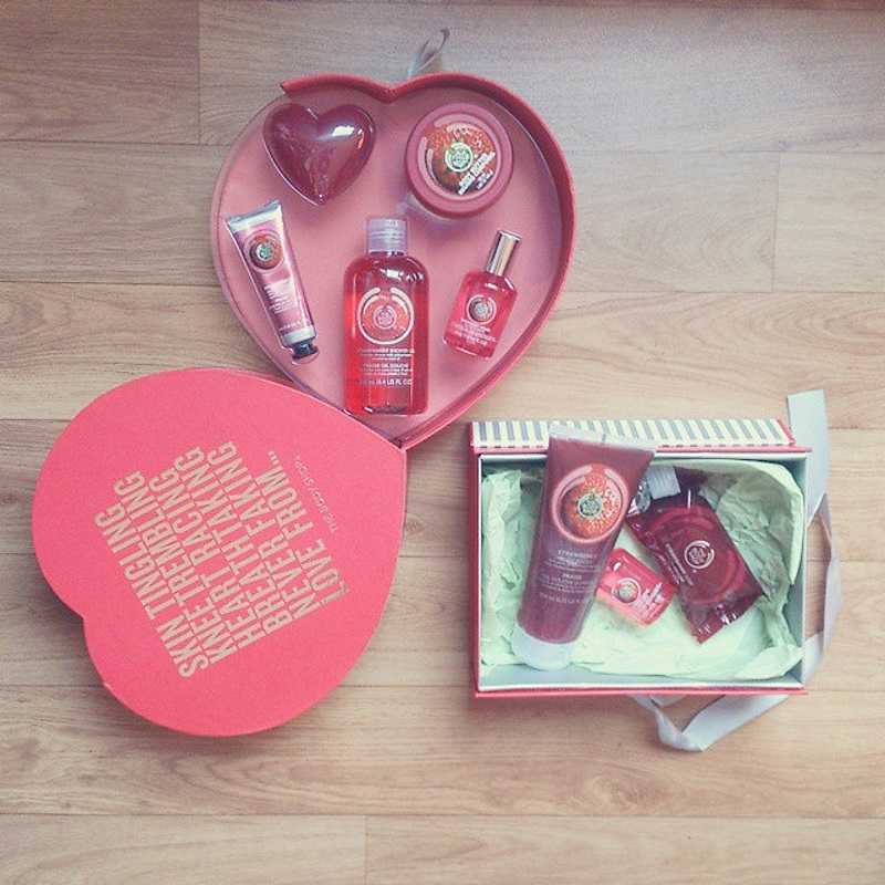 the body shop fraise