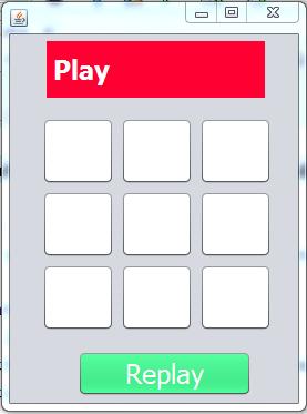 Java Tic Tac Toe Game 0