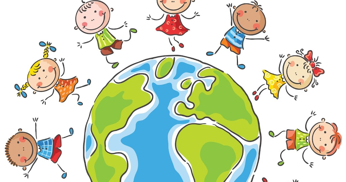 Картинка ребенок с планетой
