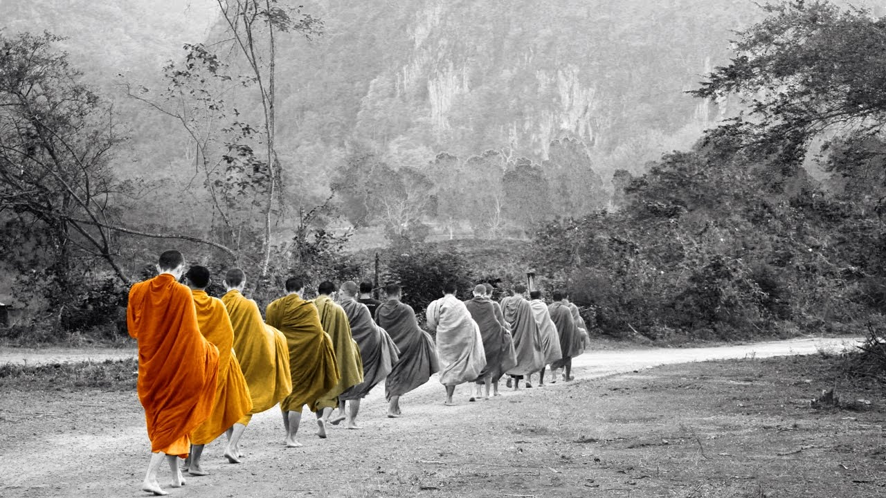 My parents, relatives and neighbours belonged to the Buddhist community, following our old ancestors.