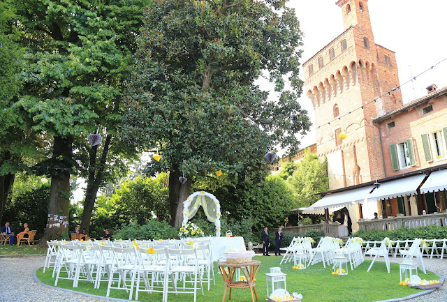 Allestimento matrimonio civile outdoor shabby