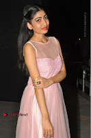 Actress Nidhisha Reddy Pos in Beautiful Pink Dress at Virus Telugu Movie Audio Launch .COM 0031.JPG