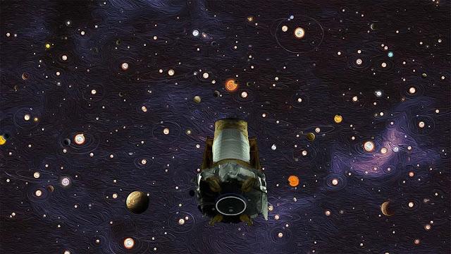 telescopio espacial kepler chega ao fim de sua missão