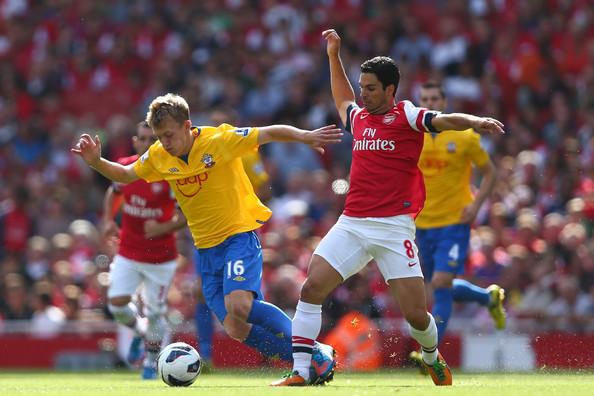 Southmapton vs Arsenal