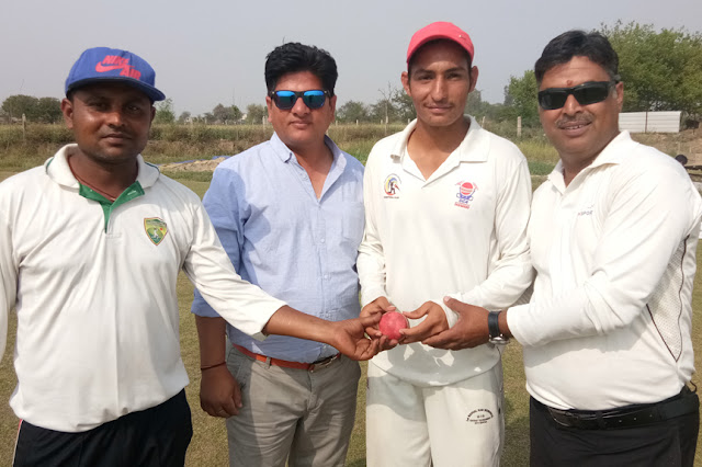 Shobham Cricket Academy is the hero of the stunning victory of the centurion, Aniket Singh