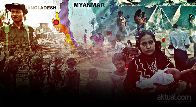Polisi Thailand Bubarkan Diskusi Tentang Rohingya