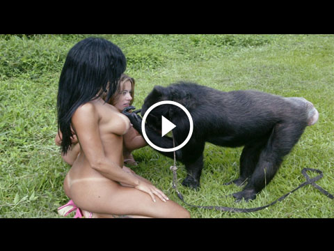 Hindi B Grade Topless Girl Fucked By A Gorilla