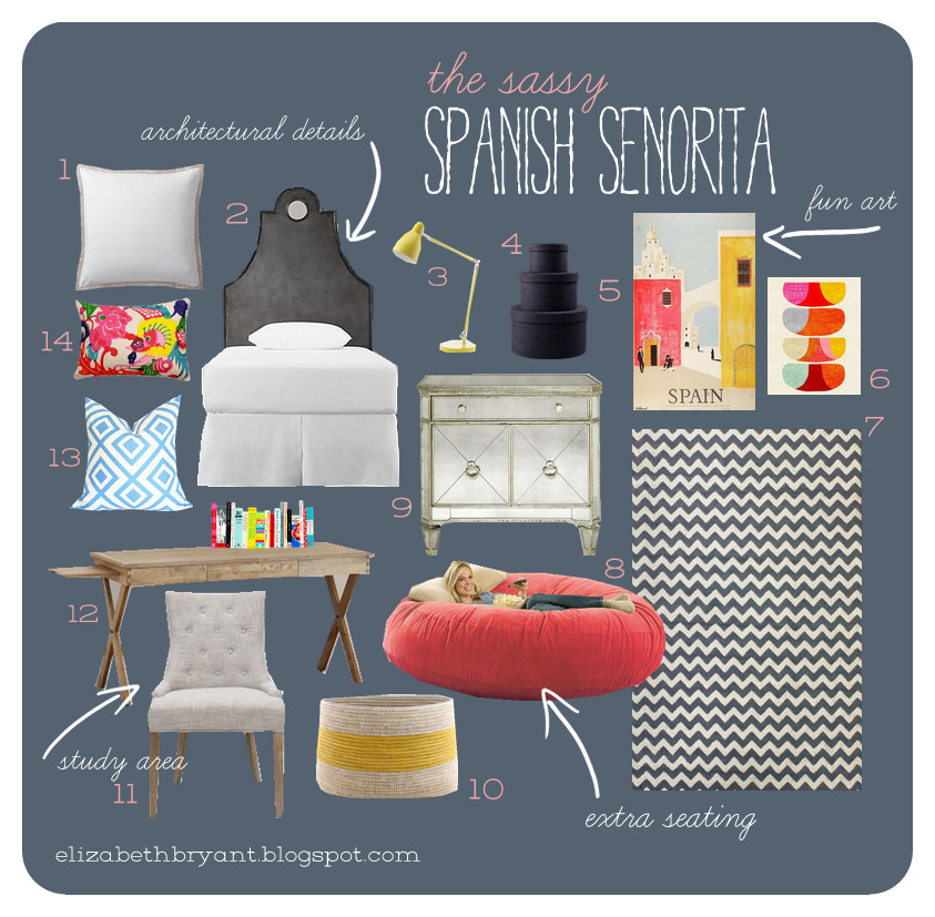 Astounding Lizzy Write Sassy Spanish Senorita Inzonedesignstudio Interior Chair Design Inzonedesignstudiocom