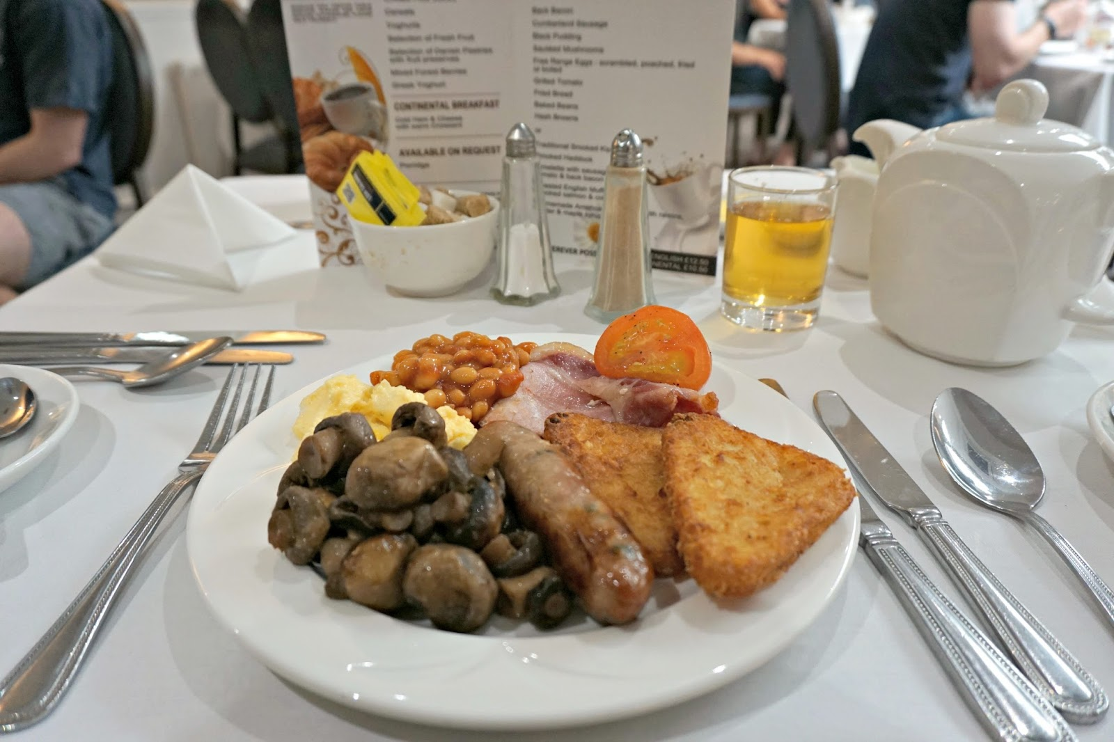 The Milford Hall Hotel Salisbury Wiltshire Stonehenge Amesbury Breakfast Blog Review
