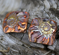 Kristi Bowman Ammonite Copper Components