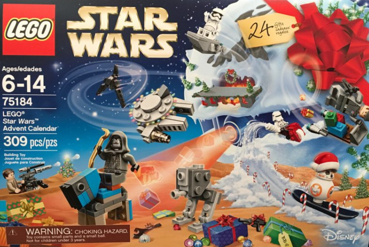 Bricks n Minifigs   LEGO Blog   LEGO News  REVEALED  LEGO Christmas     LEGO Star Wars 2017 Advent Calendar