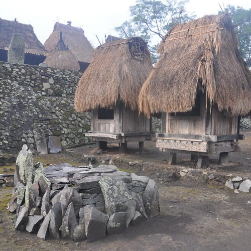 Tinuku Travel Bena traditional village megalithic settlements 45 house on Flores island highlands to ancient life