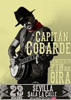 Capitán Cobarde, concierto fin de gira en Sevilla