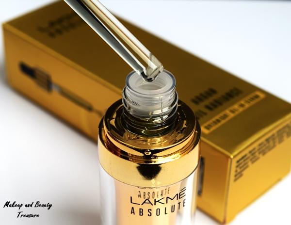 lakme argan oil serum