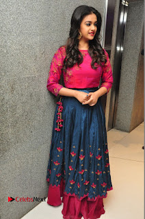 Actress Keerthi Suresh Stills at Remo Success Meet  0182.JPG