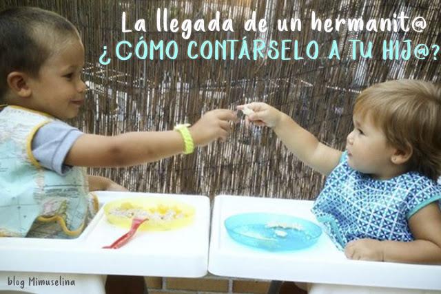 llegada de un hermanito, cómo contárselo a tu hijo, blog mimuselina
