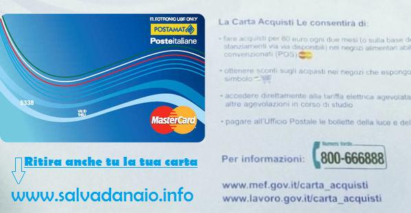 Carta acquisti Inps: Rinnovo, Domanda e Requisiti