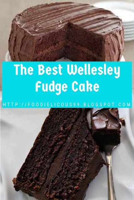 The Best Wellesley Fudge Cake